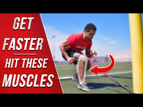 INCREASE EXPLOSIVE SPEED // Top 8 Resistance Band Deceleration Drills