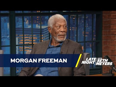 Morgan Freeman Is Tired of Recording People's Voicemail Messages