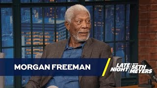 Morgan Freeman Is Tired of Recording People