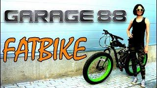 Фэтбайк. Велосипед с мотором F80.