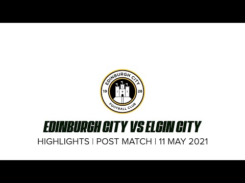 Elgin Edinburgh City Goals And Highlights
