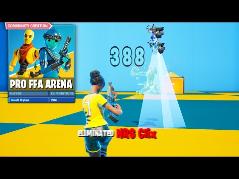 Destroying kids in PRO FREE FOR ALL ARENA...