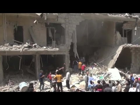 Hospital Attack In Aleppo Deprives City Of Resources