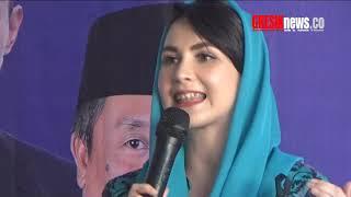 Arumi Bachsin Pidato Politik di Depan Petinggi Partai Demokrat - poitisi sampai melongo