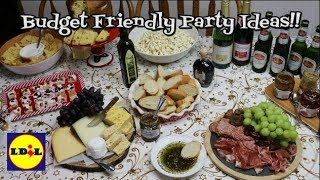 Holiday Entertaining on a Budget ~ Easy Entertaining with Lidl ~ Party Ideas ~ Noreen's Kitch streaming