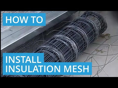 How to Install Insulation Mesh on a Portal Frame Shed - D.I.Y Roys Sheds