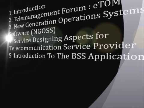 OSS BSS FOR CONVERGED TELECOMMUNICATION NETWORKS