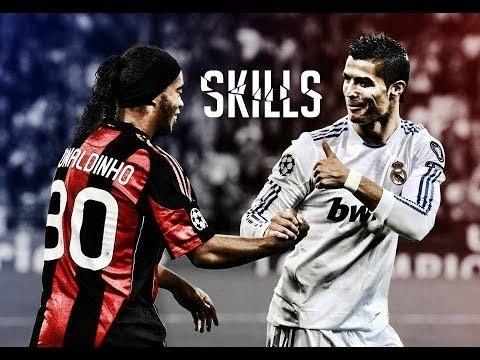 Best Football Skill Show 2015 #Ronaldo #Messi #Neymar #Bale #Suarez #Ibrahimovic #HD #Freestyle