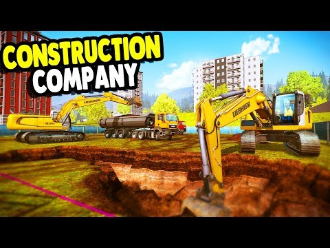 Starting Construction Company & Heavy Equipment Crew | Construction Simulator 2015 Gameplay