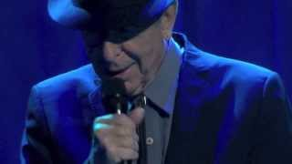 Leonard Cohen, The darkness, Dublin, 12-09-2013