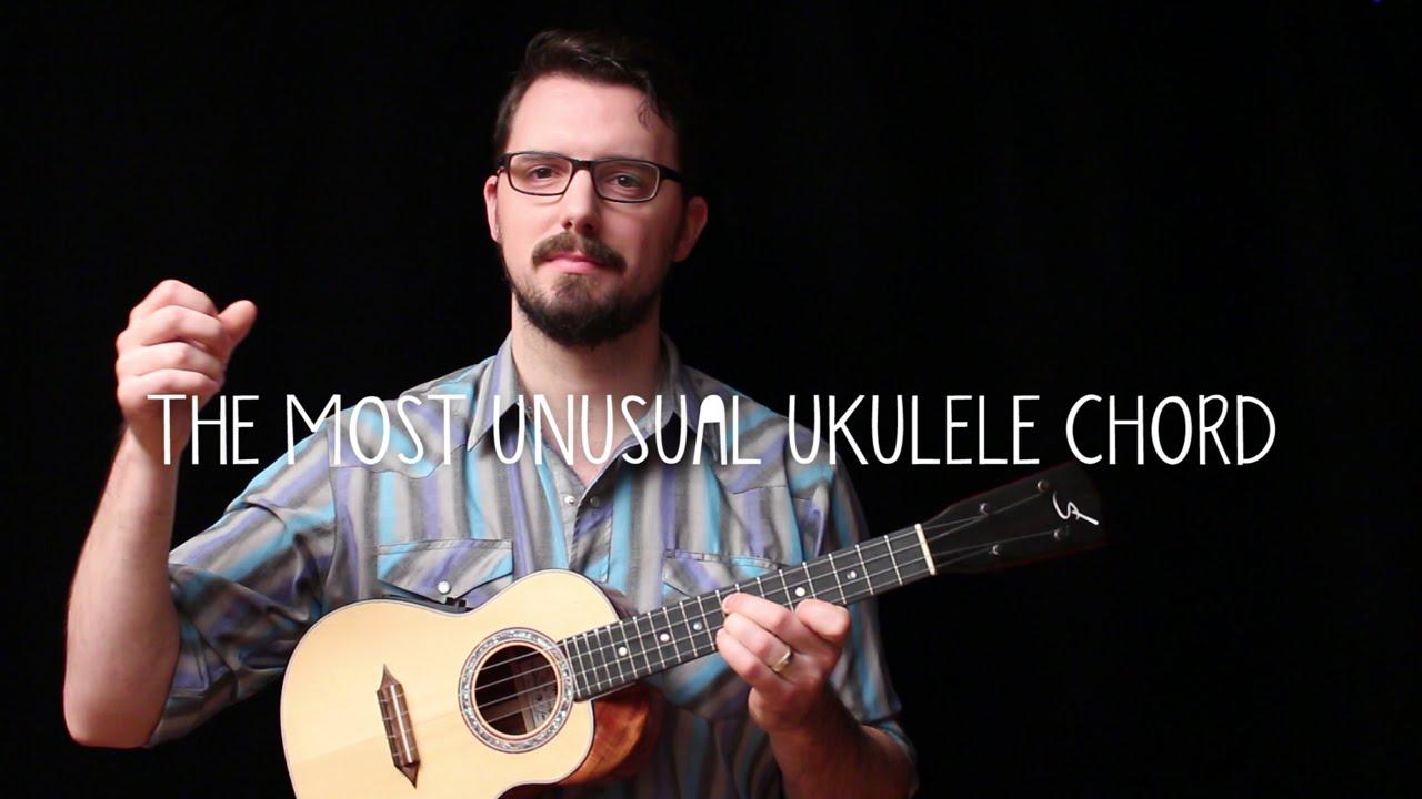 The Most Unusual Ukulele Chord James Hill Ukulele Tutorial Youtube