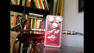 Quick video demo of a Devi Ever Cherry Pop fuzz.