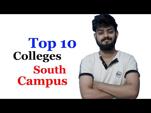 Top 10 south campus and off campus colleges of Delhi University | Tal Entertainer