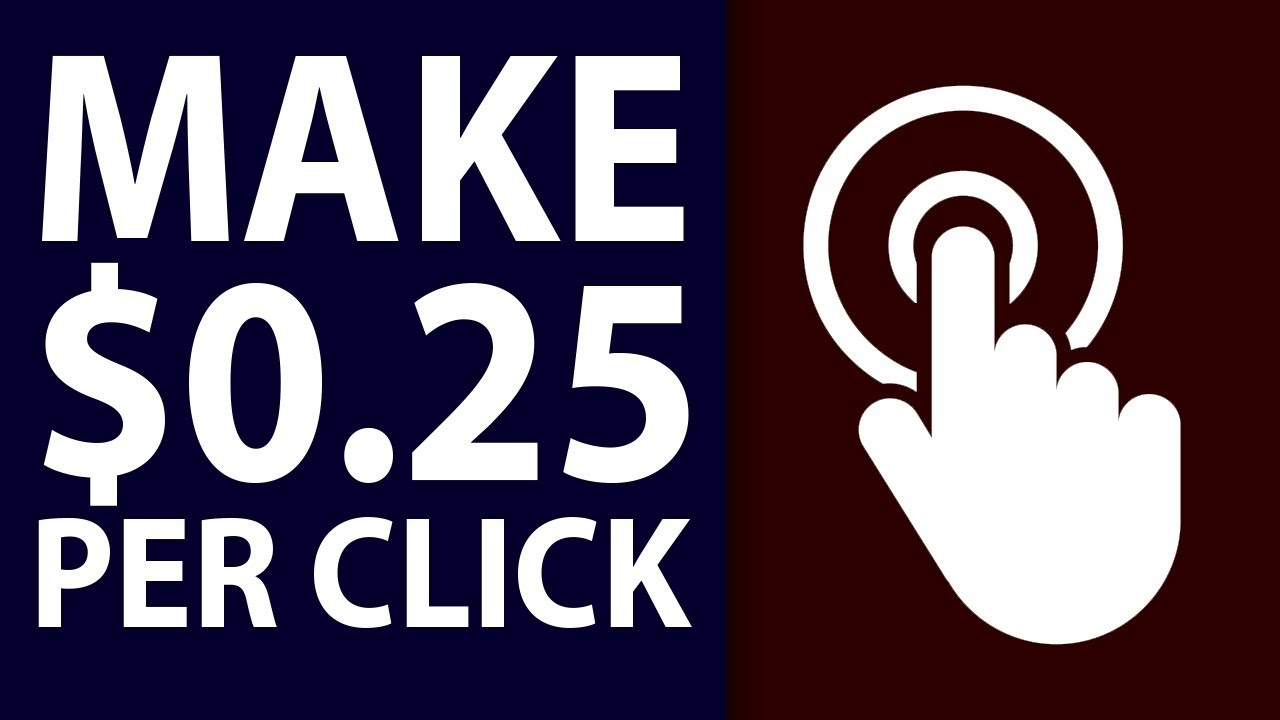 Get Paid $0 25 Per Click (FREE PayPal & AdSense Money)