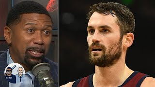 The Blazers acquiring Kevin Love would be great for their team - Jalen Rose | Jalen & Jacoby