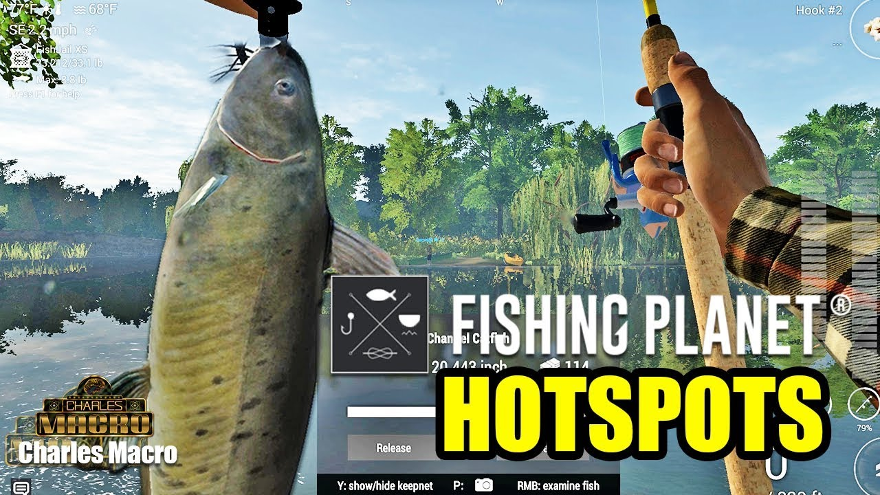 BEST HOTSPOT | MUDWATER RIVER | CHANNEL CATFISH SMALLMOUTH BASS | XP GRIND  | Fishing Planet | Ep  4