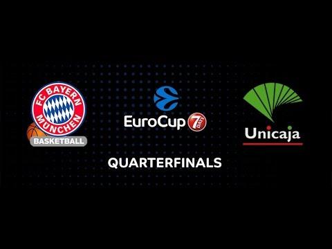 7DAYS EuroCup Preview: FC Bayern Munich vs. Unicaja Malaga