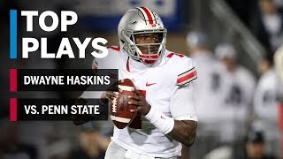 Top Plays: Dwayne Haskins vs. Penn State Nittany Lions | Big Ten Football