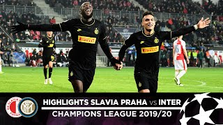 SLAVIA PRAHA 1-3 INTER | HIGHLIGHTS | Matchday 05 - UEFA Champions League 2019/20