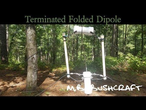 Terminated Folded Dipole Antenna t2fd - YouTube