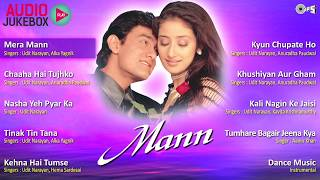 Mann Jukebox Full Album Songs ¦ Aamir, Manisha, Sanjeev Darshan