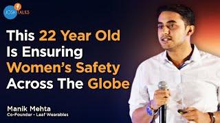 Ensuring women's safety through technology | Manik Mehta