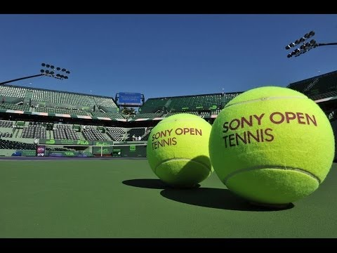 Tennis Stars Come Out For Sony Open