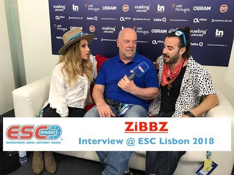 ZiBBZ (Switzerland) interview @ Eurovision 2018 Lisbon | ESC Radio