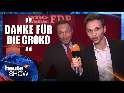 Nach dem Jamaika-Aus: Fabian Köster auf dem FDP-Parteitag | heute-show vom 01.12.2017