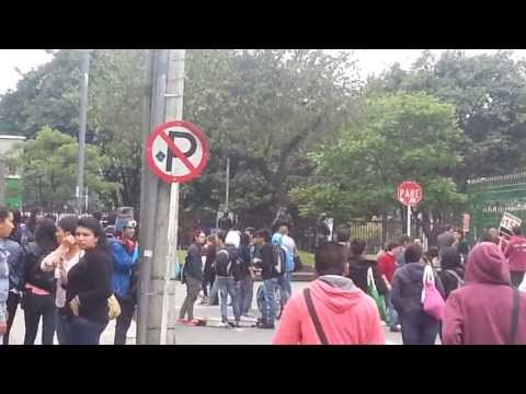 colombian-protest-turns-riot-|-universidad-pedagogica-nacional