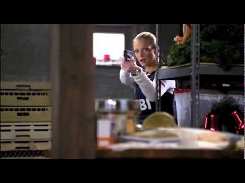Criminal Minds 7x14 Closing Time - JJs fight scene & her scenes with Reid Hotch and Morgan