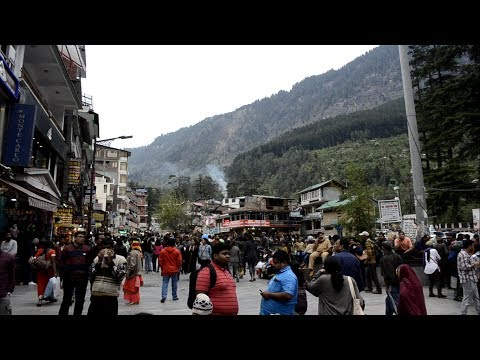Mall Road Manali Full View And Best Hotel In Mall Road || Manali Trip