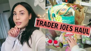 TRADER JOES HAUL + MEAL IDEAS