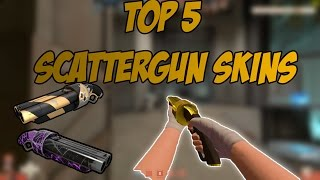 Top 5 Weapon skins in TF2 #2 - Top 5 Scattergun Skins!