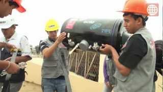 Instalacion de terma solar con SENCICO