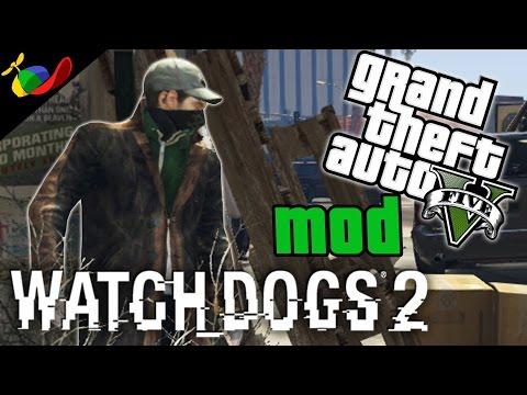 GTA 5 MOD ITA - Watch Dogs 2 & Mandiamo Los Santos In Tilt!!