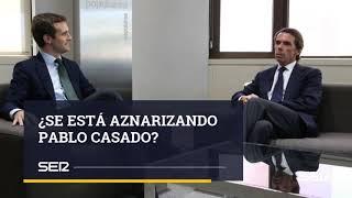 El parecido entre Pablo Casado y José María Aznar