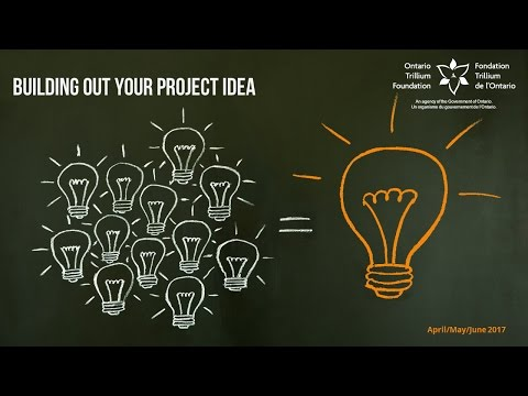 Building Out Your Grant Idea