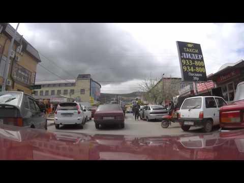 Driving in Derbent, Dagestan, Russia / Вождение в Дербенте, Дагестан, Россия