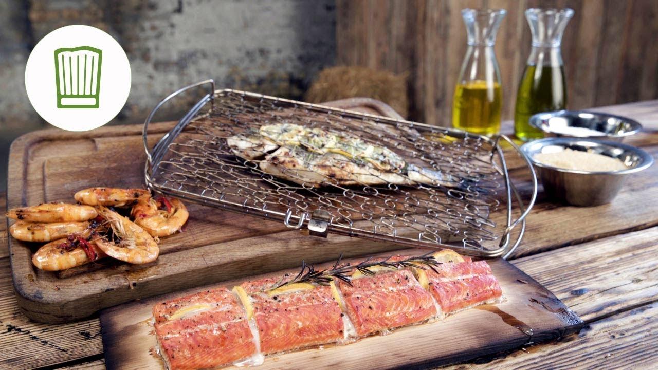 Fisch Gasgrill : Fisch grillen 3 methoden vom profi chefkoch.de youtube