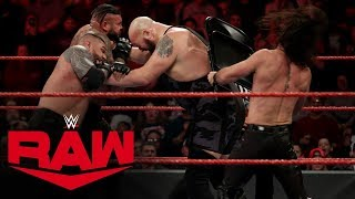 Big Show, Kevin Owens & Samoa Joe vs. Seth Rollins & The AOP: Raw, Jan. 6, 2020