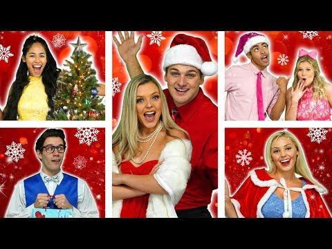 POP MUSIC HIGH SECRET SANTA CHRISTMAS SONG & WINTER DANCE (High School Music Video) Video For Teens