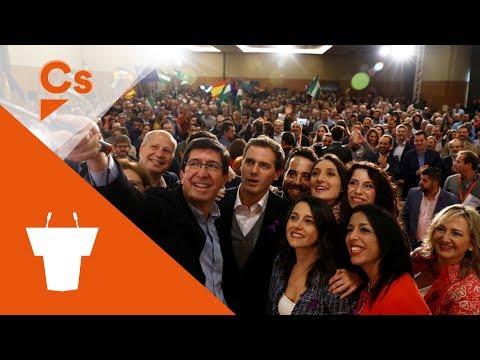 Encuentro Ciudadano con Albert Rivera, Inés Arrimadas, Juan Marín y Javier Imbroda. 25/11/2018