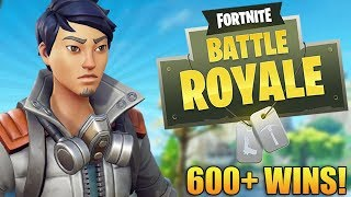 Fortnite Battle Royale: GETTING BIG PLAYS! - Plus de 600 victoires - Niveau 80 ' - Fortnite Gameplay - (PS4 PRO)