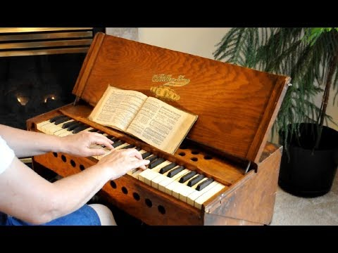 Revive Us Again (played on a Vintage Bilhorn Folding Pump Organ)