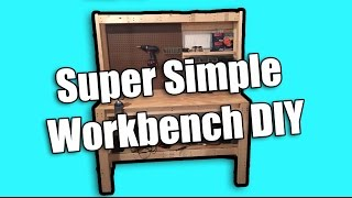 Family Handyman Cheap Diy Workbench - Super Simple Workbench