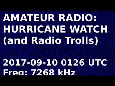 Amateur Radio Hurricane Watch Net 7.268 MHz