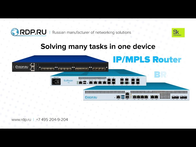 RDP.RU: hard&software solutions for high-performance network traffic processing in Telco.