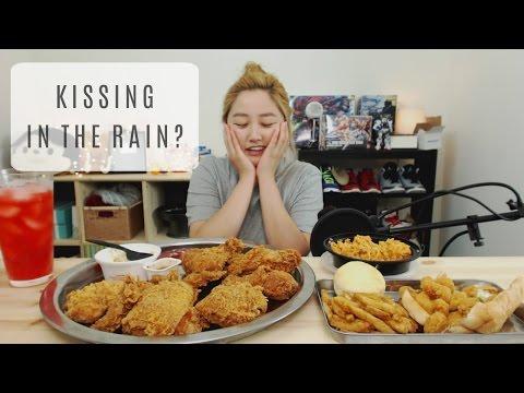 Popeyes Chicken Mukbang | KEEMi