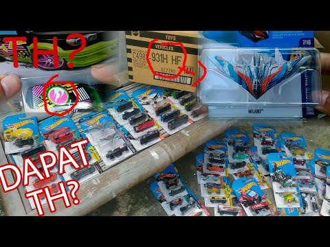 UNBOXING HOTWHEELS 2017 CASE H INDONESIA - TREASURE HUNT ALERT! MILANO, DATSUN, LAMBORGHINI, VW, DLL